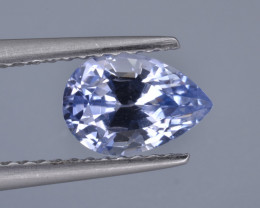 Natural Sapphire 1.28 Cts  Top Luster from Sri Lanka