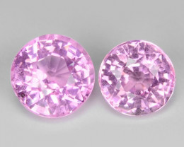 1.63 Cts Un Heated Very Rare Pink Color Natural Spinel Gemstone