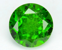1.08 Cts Natural Green Color Chrome Diopside Loose Gemstone
