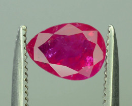 Tajikistan Ruby ct 1.0 Unheated & Untreated