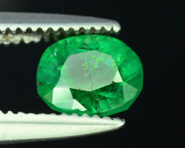 Top Color & Clarity 0.65 ct Emerald ~ H