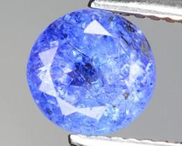 1.58 Cts Amazing Rare Violet Blue Color Natural Tanzanite Gemstone