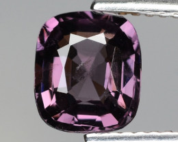 1.63 Cts Un Heated Very Rare Purple Pink Color Natural Spinel Gemstone