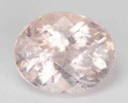 2.68 Cts Amazing Rare Natural Pink Color Morganite Gemstone