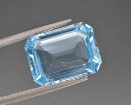 Natural BlueTopaz 12.05 Cts, Good Quality Gemstone