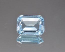 Natural Blue Topaz 12.73 Cts, Good Quality Gemstone