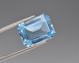 Natural BlueTopaz 13.05 Cts, Good Quality Gemstone