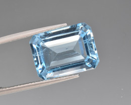 Natural BlueTopaz 13.35 Cts, Good Quality Gemstone
