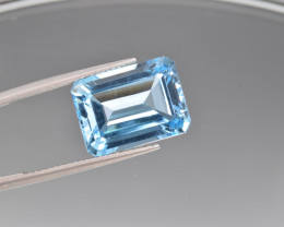 Natural BlueTopaz 13.76 Cts, Good Quality Gemstone