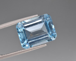 Natural BlueTopaz 14.03 Cts, Good Quality Gemstone