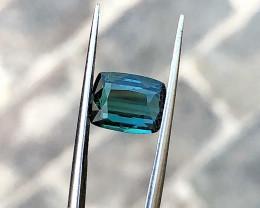 2.40 Ct Natural Blueish Transparent Tourmaline Gemstone (N03)