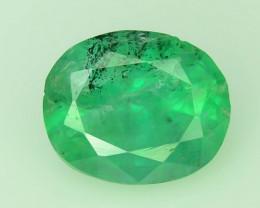 Top Color & Clarity 0.60 ct Emerald~Swat H