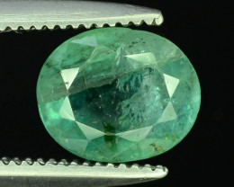 Top Color 1.25 ct Emerald~Zambia M