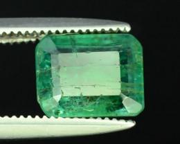 Top Color 1.60 ct Emerald~Zambia M