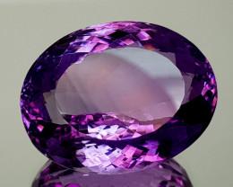 47.71Crt Natural Amethyst Natural Gemstones JI09