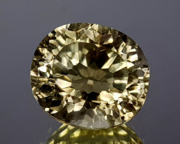 3.61Crt Lemon Quartz Concave Cut Natural Gemstones JI09