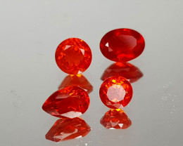 0.93Crt Faceted Opal Natural Gemstones JI09