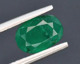 Top Color 1.20 ct Zambian Emerald t