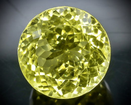 24.31 Crt Natural Lemon Quartz   Faceted Gemstone.( AB 27)