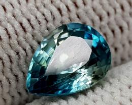 1.65CT BLUE ZIRCON BEST QUALITY GEMSTONE IIGC34