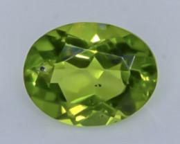 1.97 Crt Natural  Peridot Faceted Gemstone.( AB 27)