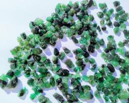 Raw Emerald Lot - 80 Grams - 120 pcs -