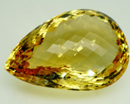 139.28 ct. 100% Natural Unheated Top Quality Yellow Golden Citrine Brazil