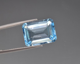Natural BlueTopaz 12.52  Cts, Good Quality Gemstone