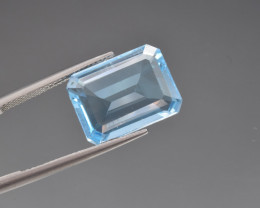 Natural BlueTopaz 11.09 Cts, Good Quality Gemstone