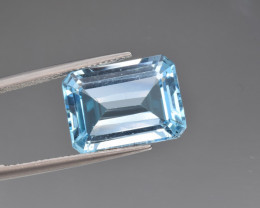 Natural BlueTopaz 13.33 Cts, Good Quality Gemstone