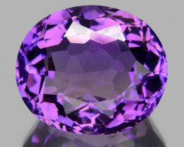 7.95 CT NATURAL AMETHYST GOOD CUT GEMSTONE AM11