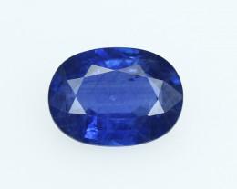 Thai Kanchanaburi Blue Sapphire, eye clean, rare, excellent cut. BS076-2