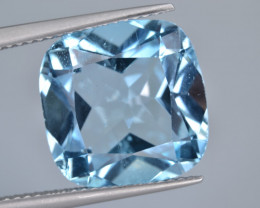Natural Blue Topaz  11.11 Cts Top Quality