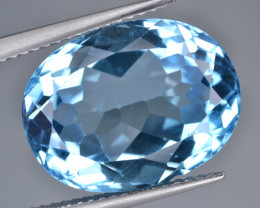 Natural Blue Topaz 13.75 Cts Top Quality
