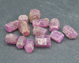 Natural RubyCrystal Type Rough 100.5 Cts Lot