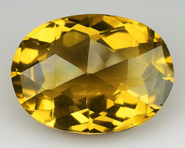 11.43 Crt Madeira Citrine Brilliant Color & Cut ~ CT25