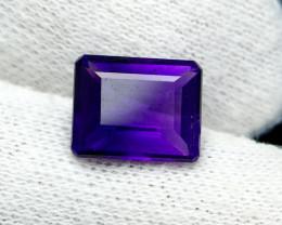 NR!!! 4.55 CTs Natural - Unheated Purple Amethyst Gemstone