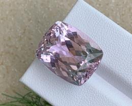29.20 Cts AAA Grade Natural Pink Kunzite Fine Cut Afghanistan