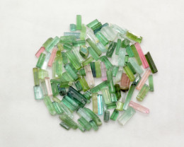 98 CT Natural  Tourmaline crystals From Afghanistan