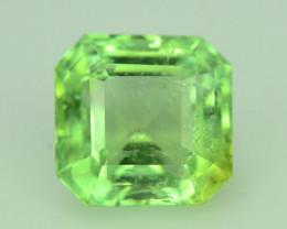 Asscher Cut 5.55 ct Afghan Green Tourmaline ~ Jaba Mine