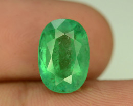 Top Color & Clarity 4.20 ct Emerald~Afghanistan