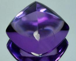 11.49Ct Natural Purple Amethyst Sugar Loaf 13mm