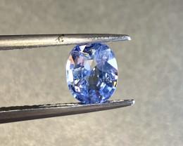 1.26ct unheated blue sapphire