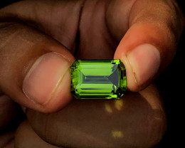 11.36 Carats Natural AAA Grade Color Peridot From Pakistan