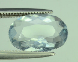 Ice Color 1.95 ct Aquamarine Ring Size