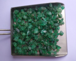 Raw Emerald Lot - 45.50 Gr -Facet grade - Untreated