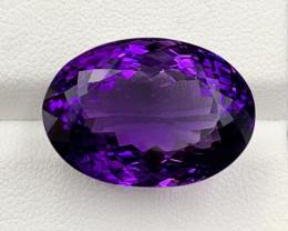 26.83 Ct Amethyst Gemstone