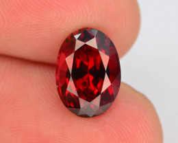 AAA Cut 3.85 Ct Natural Ravishing Color Rhodolite Garnet
