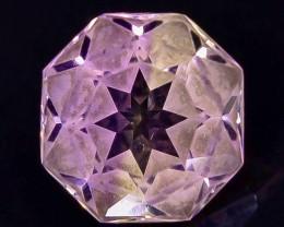 2.49 Crt  Ametrine Faceted Gemstone (Rk-2)