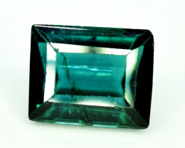 Tourmaline, 2.20 CT Indicolite Color Natural Tourmaline Gemstone